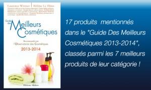 meilleurs cosmetiques 2013