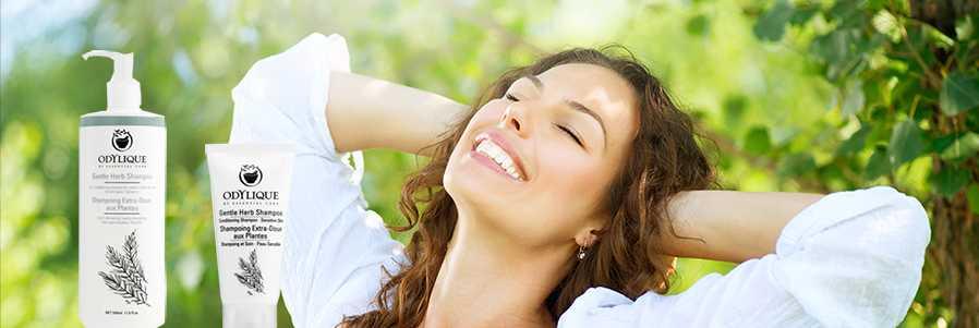Gentle Herb Shampoo natuurlijke shampoo zonder parabenen zonder sulfaten